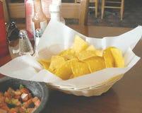 Microplaquetas de Tortilla foto de stock royalty free