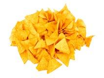 Microplaquetas de Tortilla Foto de Stock