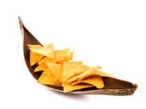Microplaquetas de Tortilla Imagem de Stock
