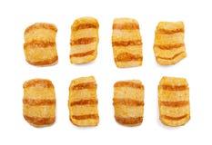 Microplaquetas do bacon Fotos de Stock
