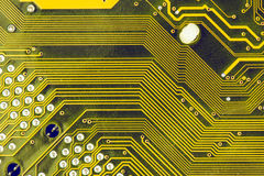 Microplaquetas do cartão-matriz do computador Imagens de Stock Royalty Free