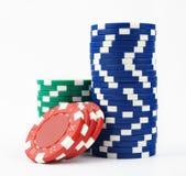 Microplaquetas do casino Imagens de Stock
