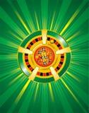 Microplaquetas do casino do vetor Imagem de Stock Royalty Free