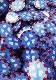 Microplaquetas do póquer Imagem de Stock
