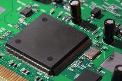 Microplaquetas do silicone Imagem de Stock
