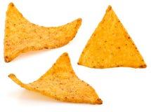 Microplaquetas dos Nachos Fotos de Stock