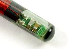Microplaquetas e etiquetas do RFID Imagem de Stock Royalty Free