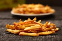 Microplaquetas fritadas friáveis do fruto do jaque Fotografia de Stock