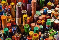 Microplaquetas, microplaquetas e ainda microplaquetas Fotografia de Stock Royalty Free