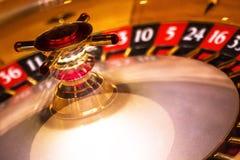 Microplaquetas & roleta do póquer imagens de stock
