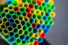 Microplastic in de oceanen royalty-vrije stock foto