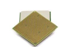 Microprocesador Imagen de archivo libre de regalías