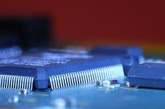 Microprocesador fotos de archivo