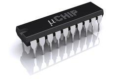 Microprocesador Fotos de archivo libres de regalías
