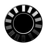 Microprocesador aislado Imagen de archivo libre de regalías