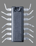 Microprocesador - araña Fotografía de archivo libre de regalías
