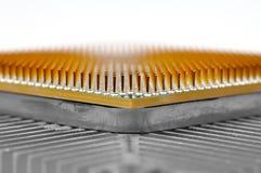 Microprocesador de la CPU Foto de archivo