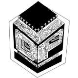 Microprocesador de los gráficos Fotografía de archivo libre de regalías