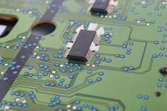 Microprocesador eléctrico Fotografía de archivo