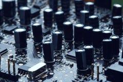 Microprocesadores imagen de archivo