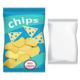 Microprocesadores con queso Fotografía de archivo libre de regalías