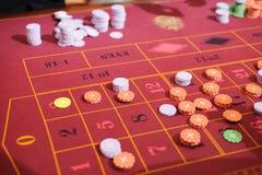Microprocesadores del casino imagen de archivo libre de regalías