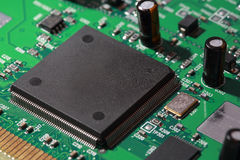 Microprocesadores del silicón Imagen de archivo