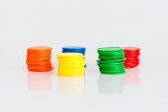 Microprocesadores divertidos coloridos del juego Fotografía de archivo libre de regalías