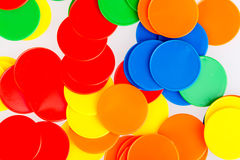 Microprocesadores divertidos coloridos del juego Fotografía de archivo