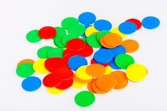 Microprocesadores divertidos coloridos del juego Foto de archivo libre de regalías