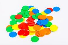 Microprocesadores divertidos coloridos del juego Foto de archivo
