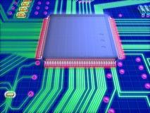 Microprocesseur illustration libre de droits