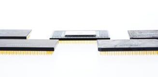 microprocesseurs certains photographie stock libre de droits
