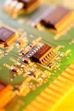 Microprocessor chip Stock Photos