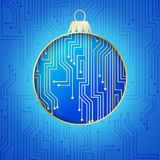 Microprocessor circuitry. Stock Images