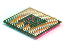 Microprocessor computers component Royalty Free Stock Photography
