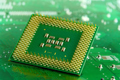 Microprocessor Royalty Free Stock Photos