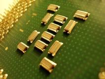 microprocessore Fotografie Stock