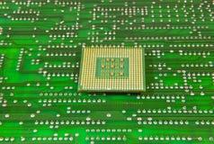 Microprocessori centrali per un calcolatore Fotografia Stock Libera da Diritti