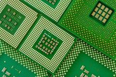 Microprocessors Stock Image