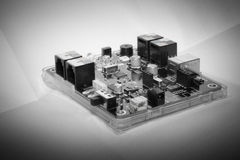 MICROPROCESSORS mechatronics Royalty Free Stock Photography