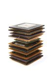 Microprocessors Stock Image