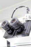 Microscópio Fotos de Stock