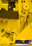 Microscópio Fotografia de Stock