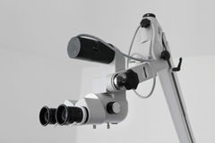 Microscópio da orelha Imagem de Stock