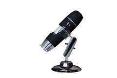 Microscópio de Digitas Fotografia de Stock