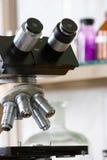Microscop fotografía de archivo libre de regalías