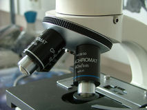 Microscope Photo stock
