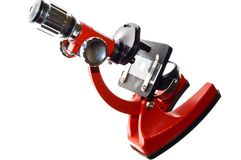 Microscope Photographie stock libre de droits