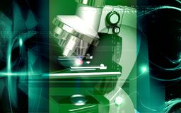 Microscope Stock Photography